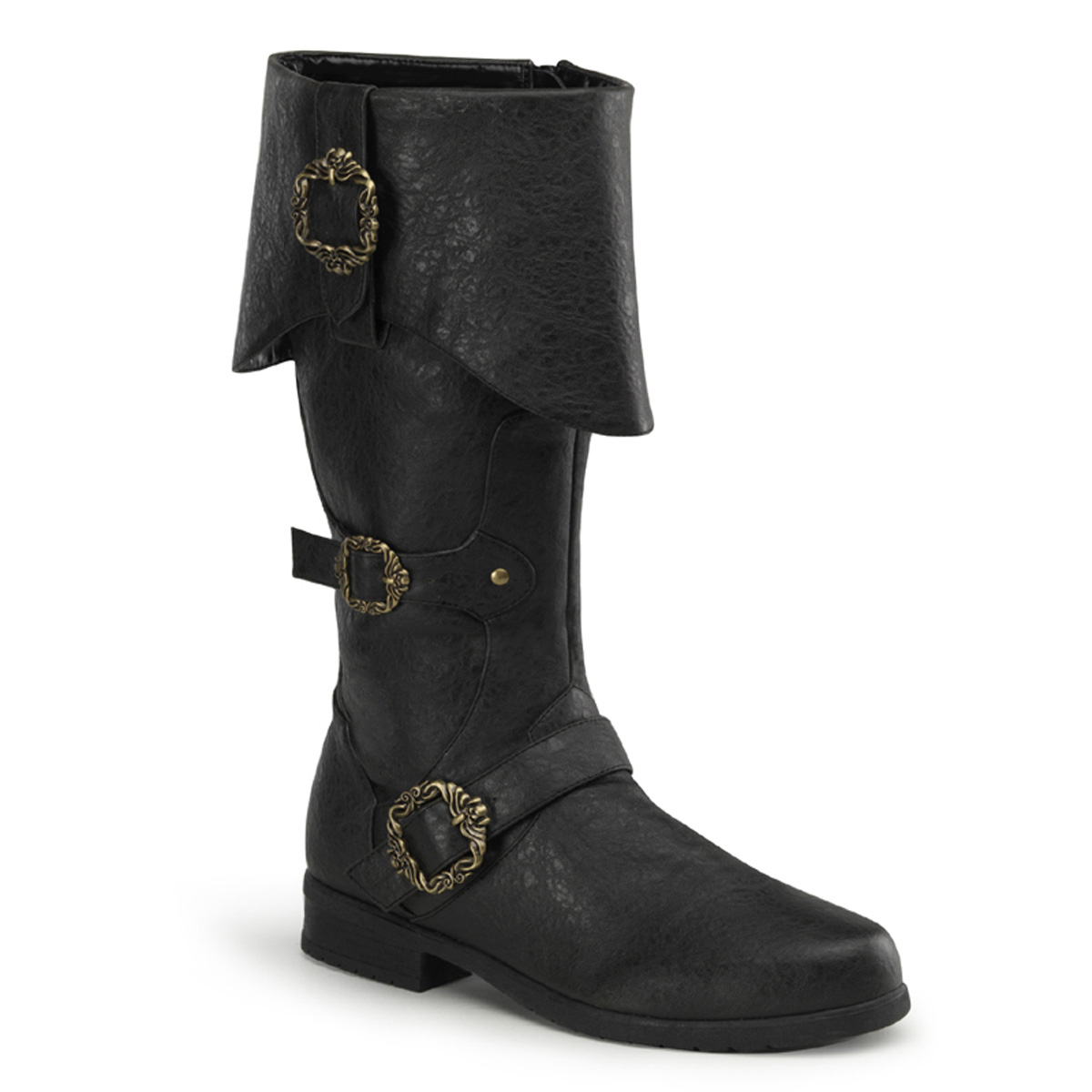 Pleaser Carribean-299 Mens Caribbean Pirate Halloween Costume Boots at Sears.com