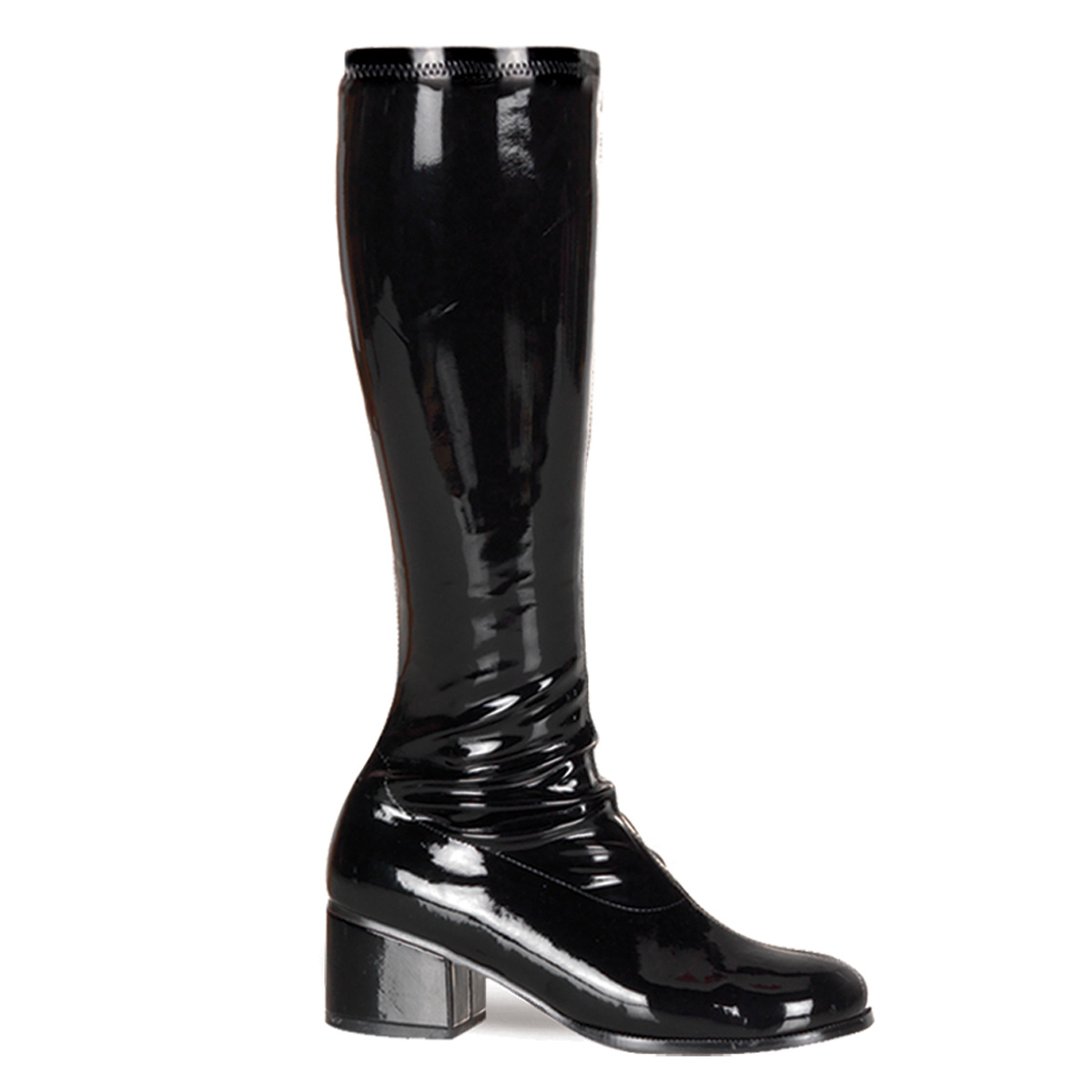 Pleaser Retro-300 GOGO Black Knee High Costume Boots Shoes at Sears.com